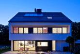 Architekturfotografie: Wohnhaus im Grünen in Stuttgart