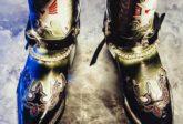 Produktfotografie Lightpainting Cowboystiefel